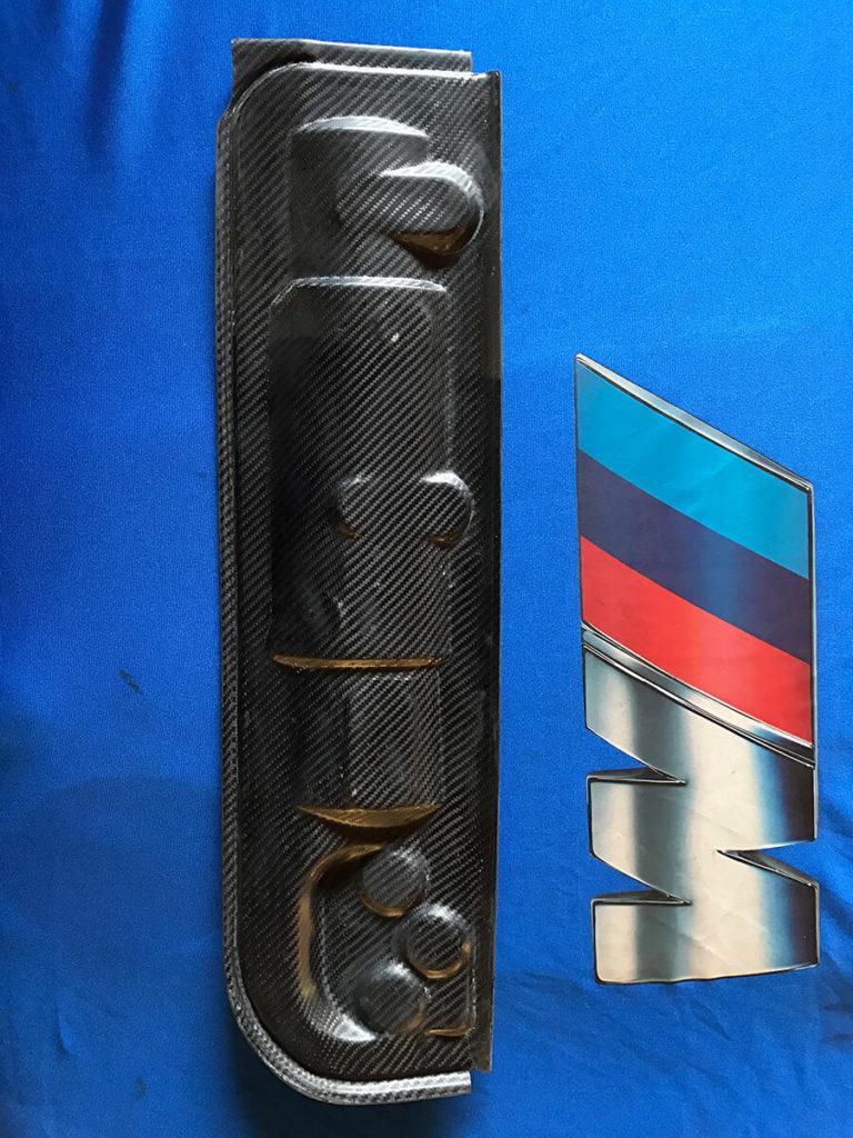 CFK Abdeckung Motorraum Gebläsekasten Scheibenwischer