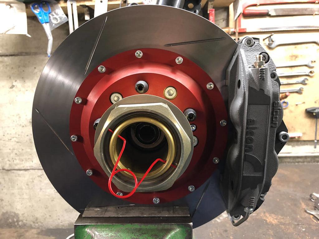 Bremsanlage VA DTM/Gr.A