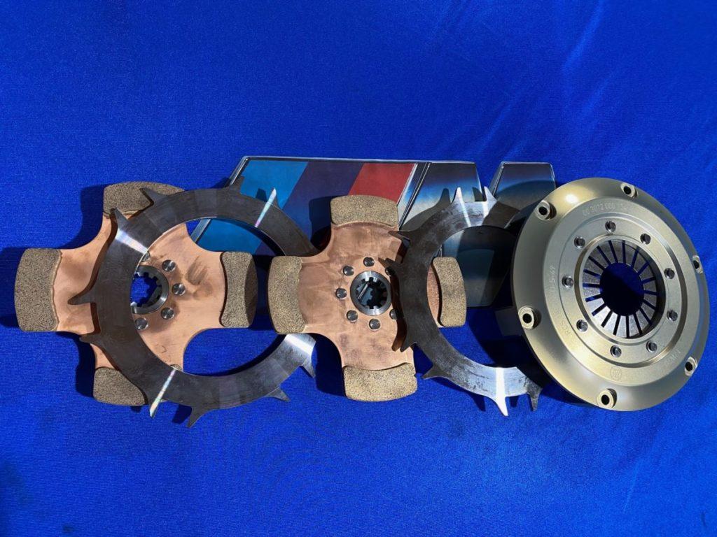 Kupplung 184mm Sachs 2 Scheiben Sinter für abgestetzten Gr.A Schwung