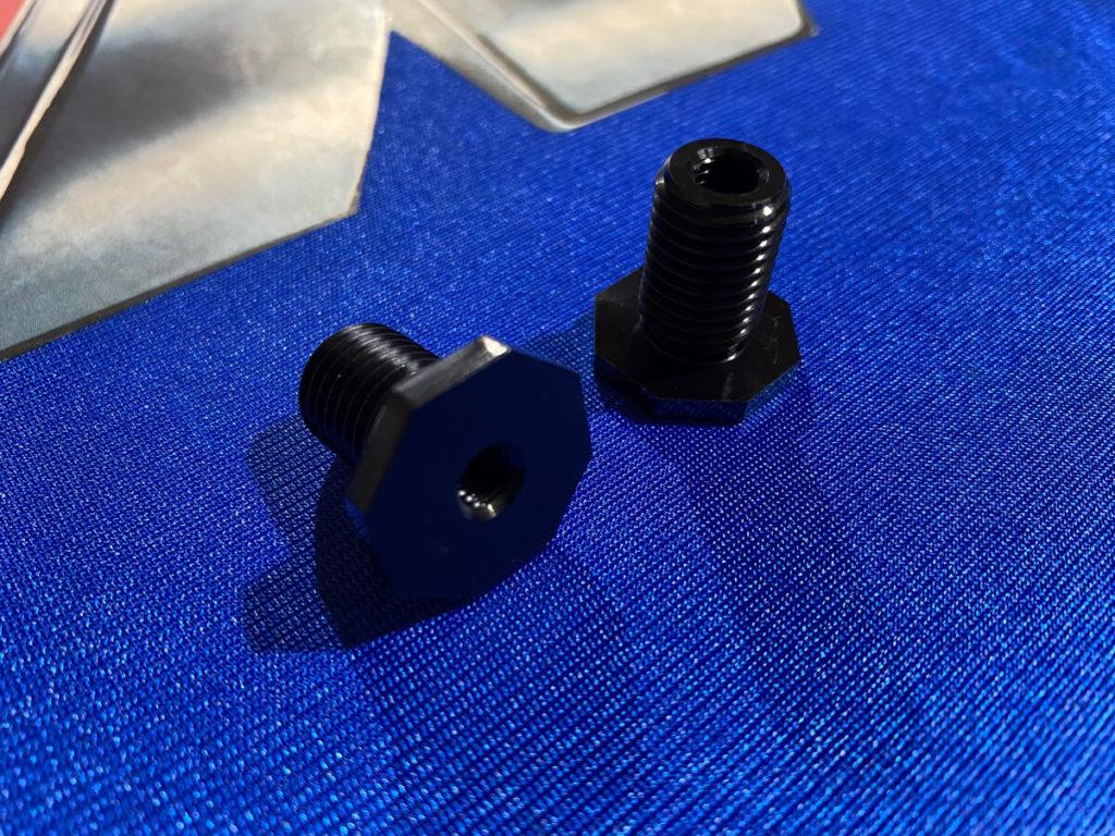 Adapterschrauben für Gr.A Federbeine-Bremsbelüftung